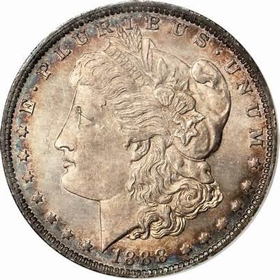 1888 Dollar Silver Value Morgan Coins Sold