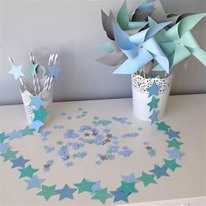 Gris Et Bleu : decoration bapteme bleu et gris ~ Dode.kayakingforconservation.com Idées de Décoration