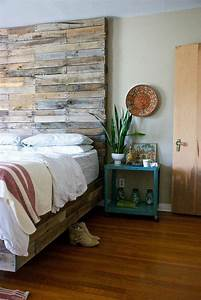 Schlafzimmer Deko Ideen Fr Das Kopfbrett Aus Holz