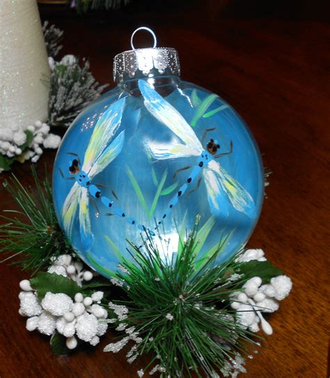large dragonfly ornament hand painted dragonflies by marilyn