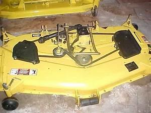 John Deere 425 Mower Deck Manual
