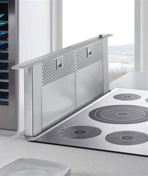 Downdraft Ventilation for Cooktops & Stovetops kitchens