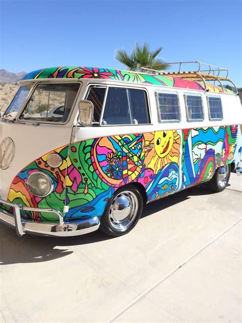 volkswagen van hippie blue my boyfriend s mom has the coolest vw bus probably ever