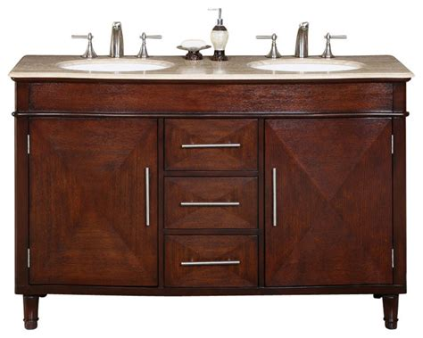55 double sink vanity cambridge 55 in double sink bathroom vanity contemporary