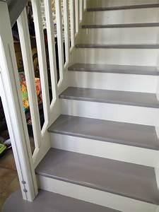 Escalier la deco de gege for Peindre les contremarches d un escalier en bois 6 renovation escalier la meilleure idee deco escalier en un