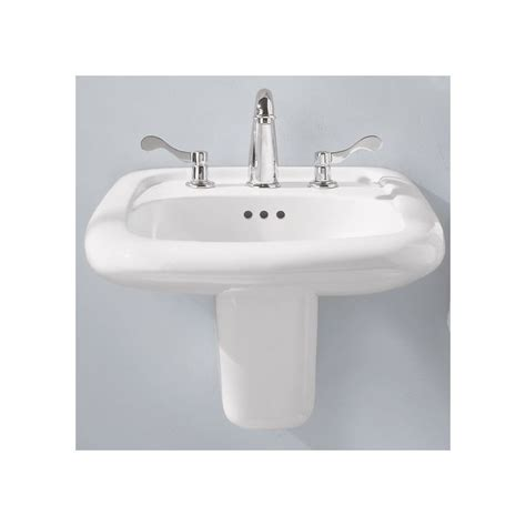 american standard porcelain kitchen sink faucet 0955 001ec 020 in white by american standard 7443