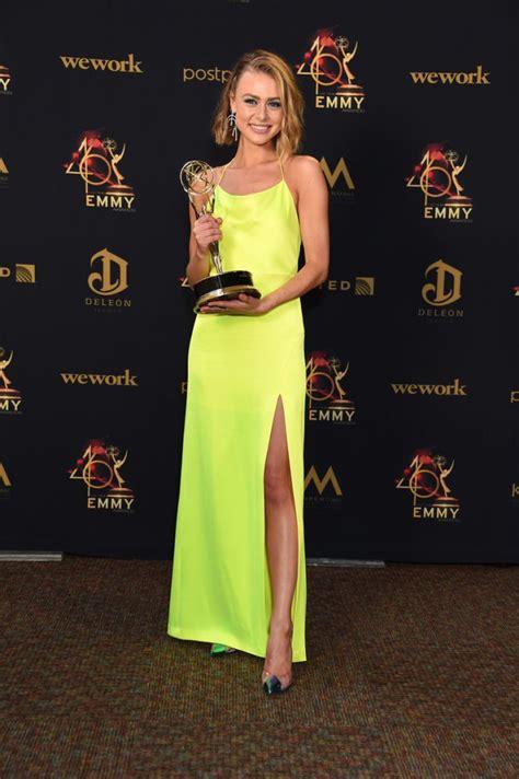 daytime emmy awards   red carpet celebrity