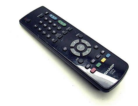 original sharp  lcdtv remote control onlineshop