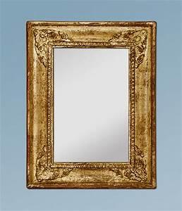Miroir Vénitien Ancien : petit miroir ancien dor patin ~ Preciouscoupons.com Idées de Décoration