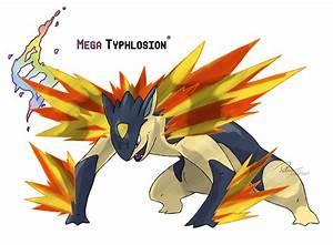 Mega Typhlosion by LeafyHeart on DeviantArt