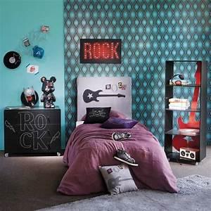 Deco Pour Chambre Ado : deco chambre ado fille rock visuel 2 ~ Teatrodelosmanantiales.com Idées de Décoration