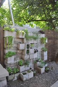 budget backyard 10 ways to use cheap concrete cinder With idee deco jardin terrasse 3 idee deco entree peinture