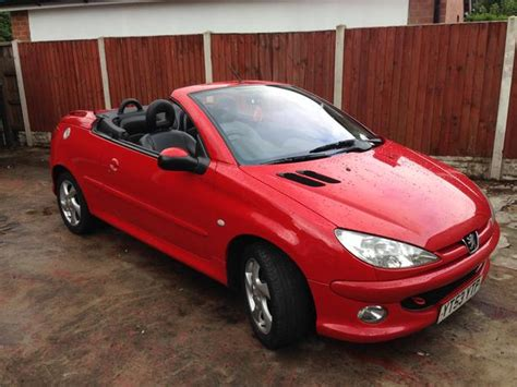 Peugeot 206 Convertible by Peugeot 206 Cc Convertible Wolverhton Sandwell