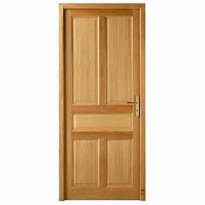 porte d39interieur bois blois pasquet menuiseries With style de porte interieur