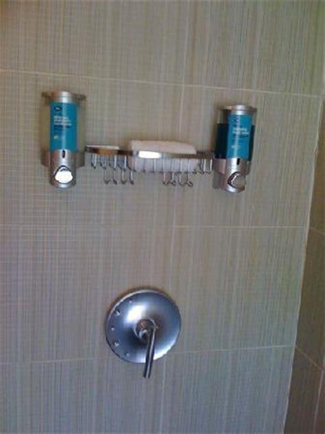 No Soap Shower - shower no bar soap shoo and soap in dispenser