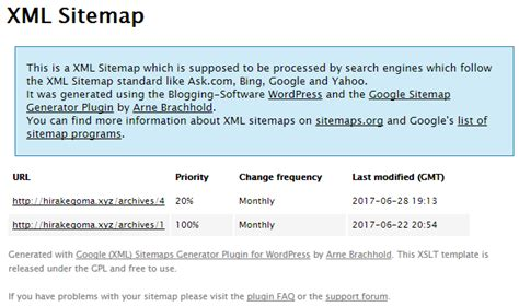 Google Xml Sitemapsの使い方|サイトマップを自動生成するwordpressプラグイン