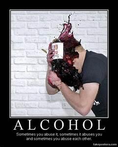 Alcohol - Demotivational Poster | FakePosters.com