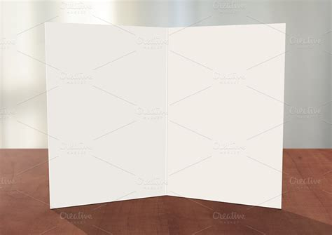 greeting card template photoshop greeting card photoshop mockup card templates on creative market