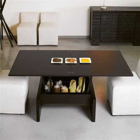 space saving coffee table space saver dining table home design online