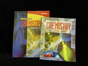Bob Jones Chemistry Student  U0026 Lab Manual Workbook  2nd Ed