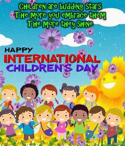 Children International Stars Childrens Ecards