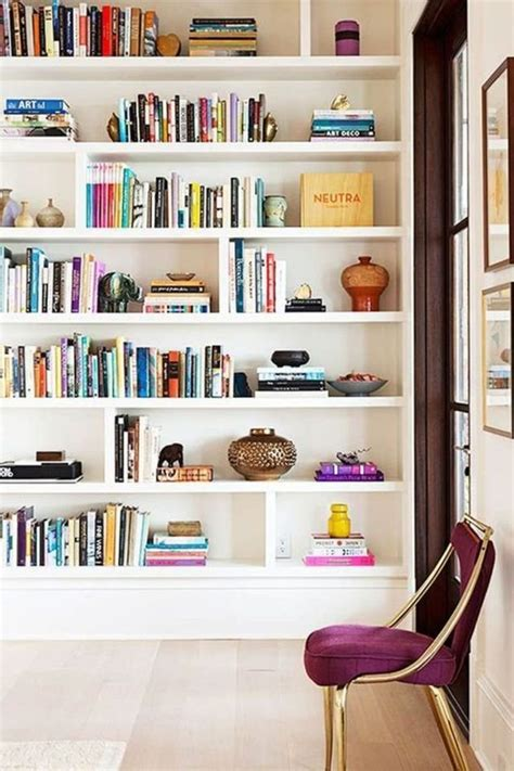 styling tips   cool  artistic bookcase
