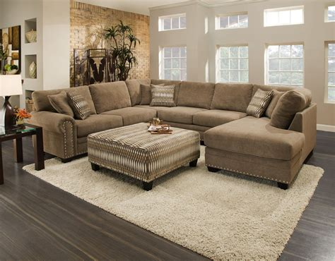 oates  piece sectional  hom furniture furniture