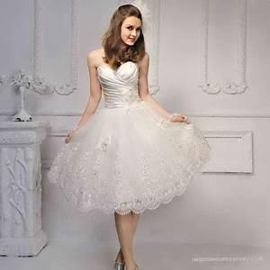 Kurz Hochzeitskleid