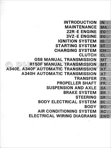 1994 Toyota 4Runner Repair Shop Manual Set Factory Reprint
