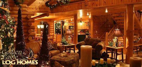 pin  autumn eastman  log homes cabin christmas log homes dream country home