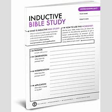 Best 25+ Inductive Bible Study Ideas On Pinterest  Bible Studies, Bible Study Tools And Ariel