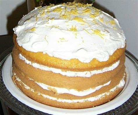 lemon bavarian torte recipe foodcom