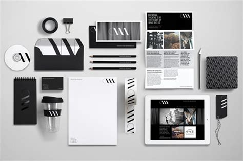 50 best corporate identity design packages branding projects