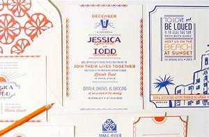 jessica todd39s art deco letterpress wedding invitations With letterpress wedding invitations miami