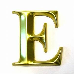 3d gold letter e 3d letters With gold letter e