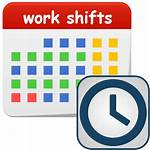 Clipart Schedule Shifts Transparent Android Turni Lavoro