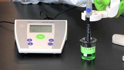 Ph meter titration lab report