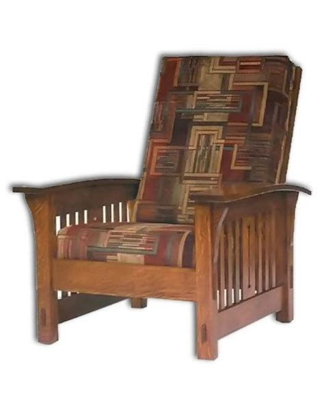 Amish Morris Chair Recliner by Amish Made Morris Chairs Handcrafted Amish Morris Chair