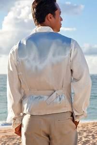 Men 39 S Linen Amalfi Suit Vest For Beach Weddings Island