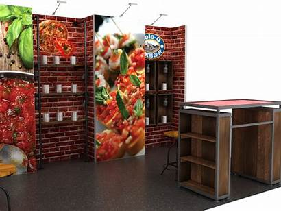Inline Display Displays Booth Expomarketing Options Booths