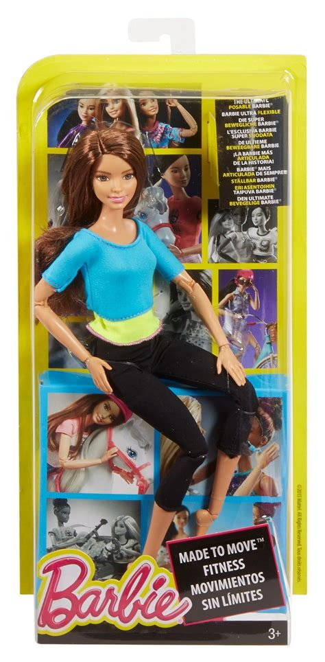 barbie   move doll blue toy  mighty ape nz