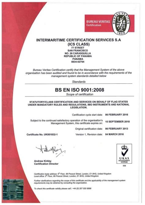 certification bureau veritas bureau veritas certification