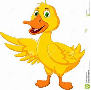 Duck clipart cute duck - Pencil and in color duck clipart ...