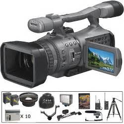 sony hdr fx7 3cmos hdv 1080i camcorder b h photo video