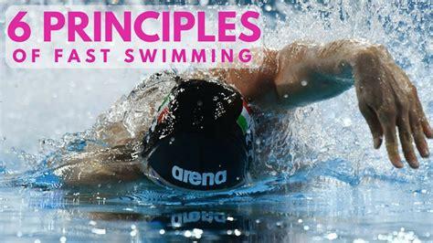 fast swim swimming faster principles