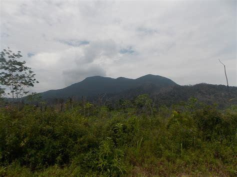 mountains  bangka belitung province indonesia gunung