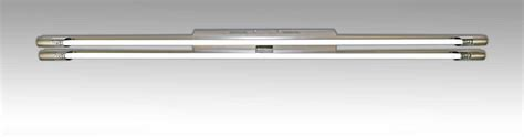 kitchen fluorescent lighting fixtures magnalux ran254nm satin chrome fluorescent kitchen 4881