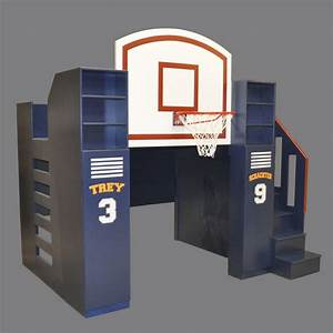 Basketball Bunk Bed - Designed by Tanglewood Design