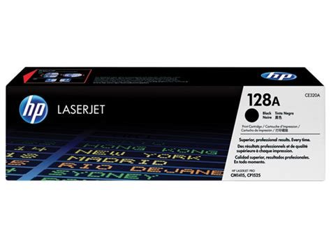 tinta printer hp laserjet hp 128a black toner cartridge ce320a konsultan it