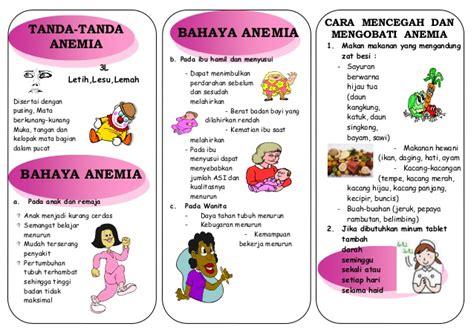 Wanita Hamil Haid Leaflet Anemia Akper Raha Muna